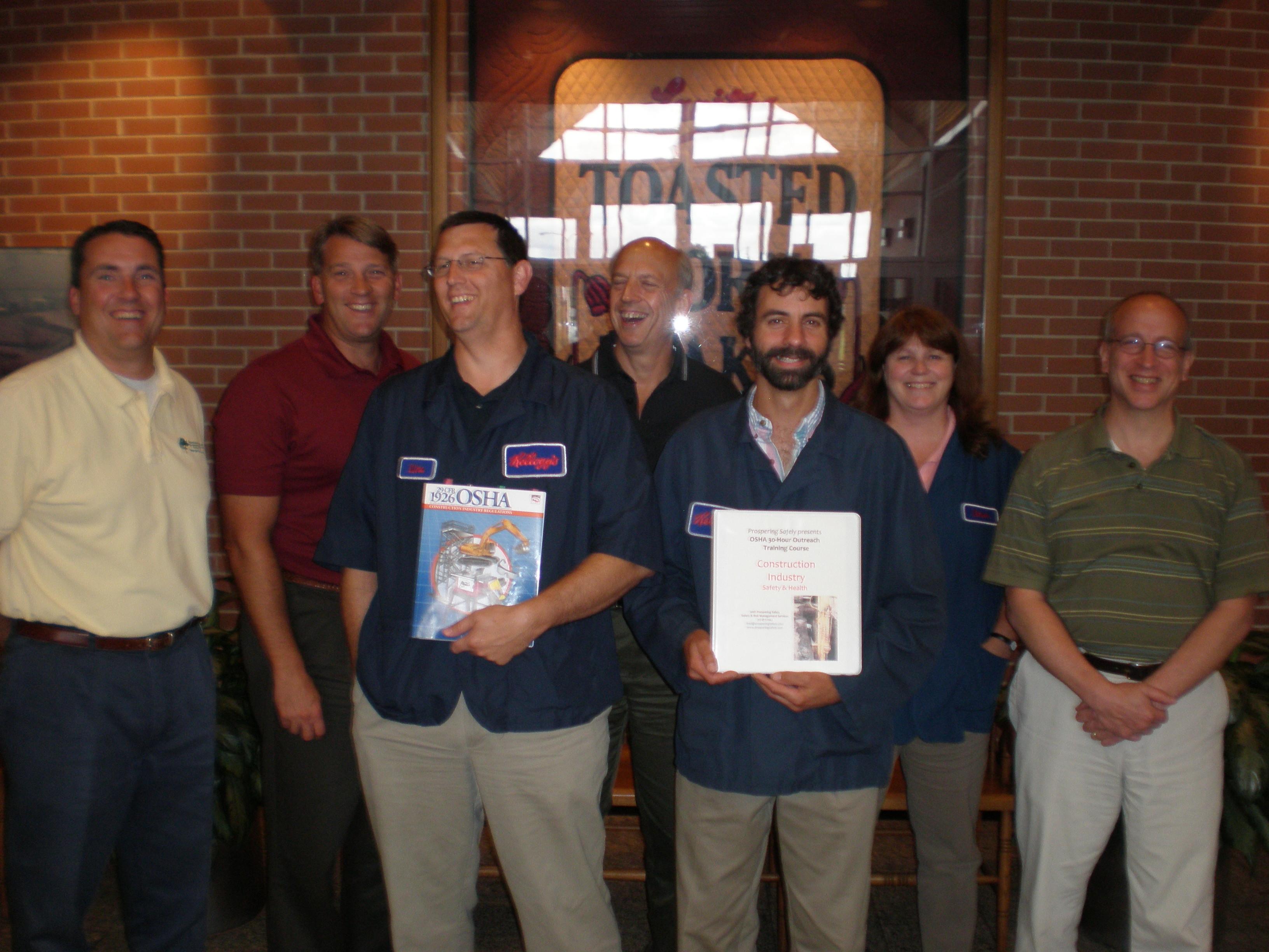 7/09 OSHA 30-Const @ Kellogg in Lancaster, PA